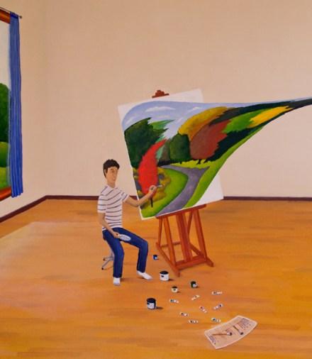 Live Art - painter