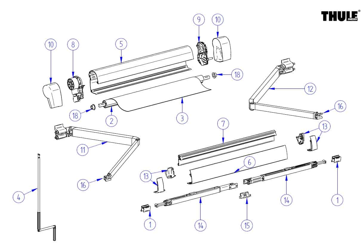 Awning Parts