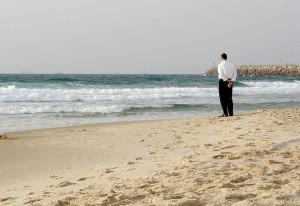Jewish man, Miami beach