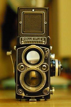 Vivian Maier, street photography, Rolleiflex, camera
