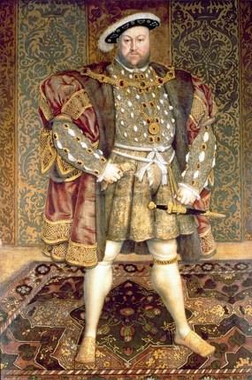 Henry VIII, English king