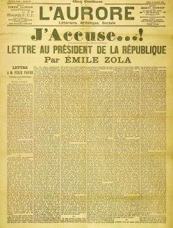 Emile Zola, Dreyfus