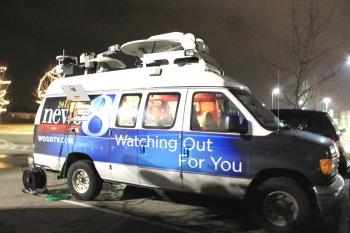 tv news truck, news, social media, where Americans get news