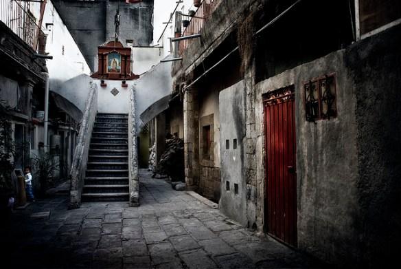 Mexico, alley