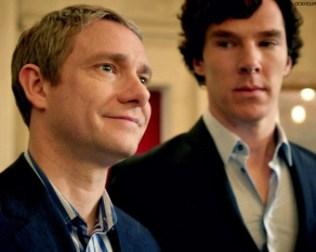 Sherlock, Freeman, Cumberbatch