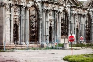 Detroit, abandoned building