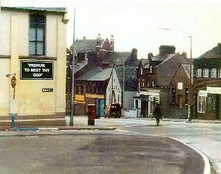 Ireland, street scene, Belfast
