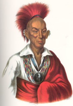 Black Hawk, American Indian