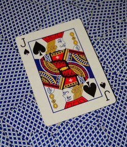 playing card, Jack of Spades