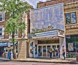 Bronxville, movie theater