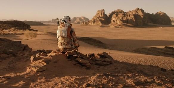 The Martian, Matt Damon
