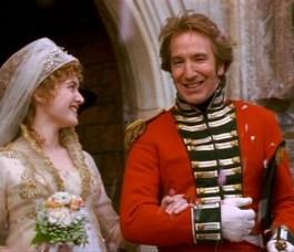 Kate Winslet, Alan Rickman, Sense & Sensibility, Jane Austen
