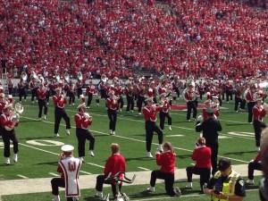 UWisc marching band