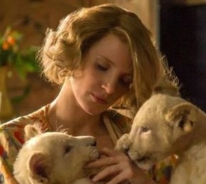 Jessica Chastain, The Zookeeper's Wife