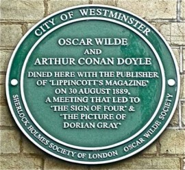 Doyle and Wilde