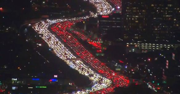 traffic, Los Angeles