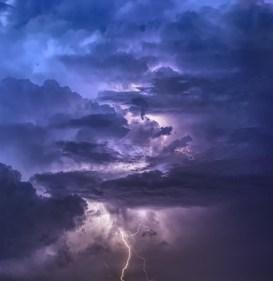 lightning, thunderstorm
