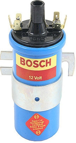 12V Bosch Blue Coil with Mounting Bracket, US Version, 00