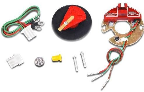 mallory unilite conversion kit convert from points/condenser to unilite  562