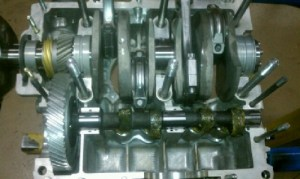 AircooledNet Dual Port Mini Stroker VW Engine Long Block, 74mm Counterweighted Crankshaft, Type