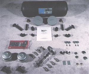VolksAire Air Compressor Kit, Fits Upright VW Engines, Deluxe Model, DR3D  AircooledNet VW Parts