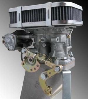 Deluxe Center Mount Progressive (DFAVDFEV) Carburetor Kit