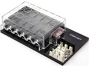 Aftermarket Fuse Box (Fuse Block), ATCATO Fuses, 14