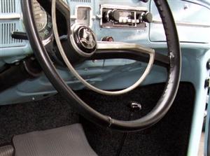 Wheelskins Genuine Leather Steering Wheel Cover, Single Color, 19491967 Beetle, Karmann Ghia
