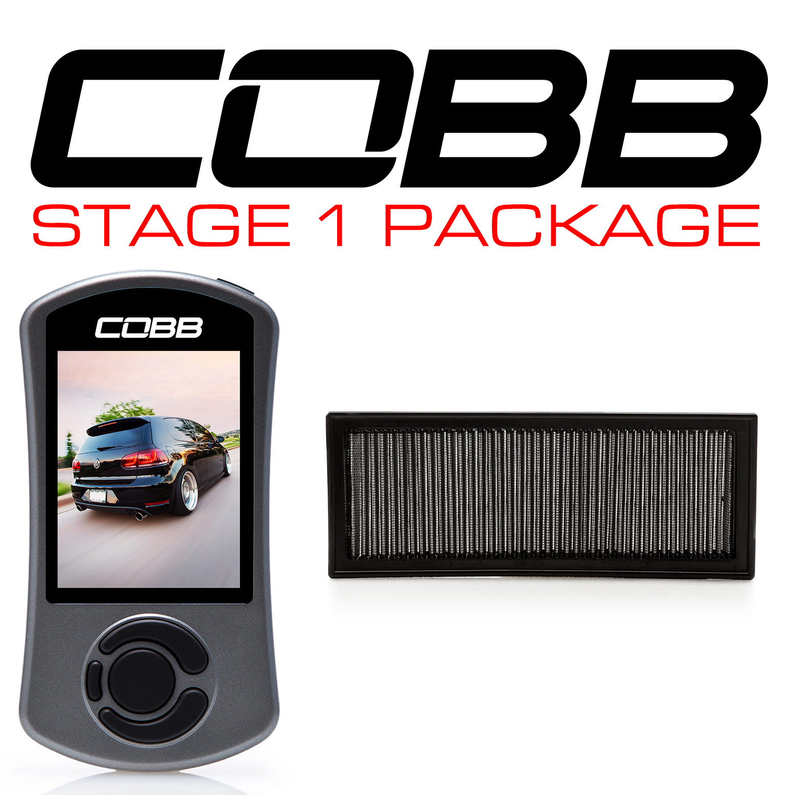 COBB Accessport V3 Stage 1 Power Package VW GTI MK6