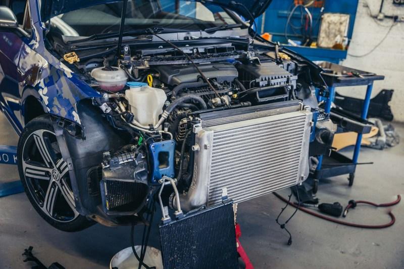 Integrated Engineering MK7 GTI Intercooler