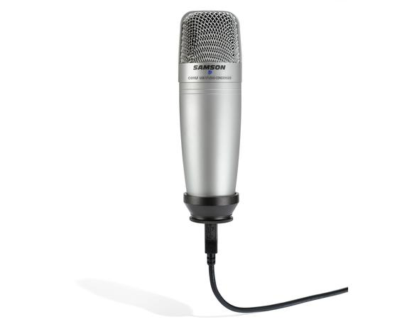 Samson C01U USB condenser microphone on Ubuntu Linux 12.04