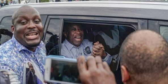 Le retour heureux de Laurent GBAGBO en Côte d'Ivoire