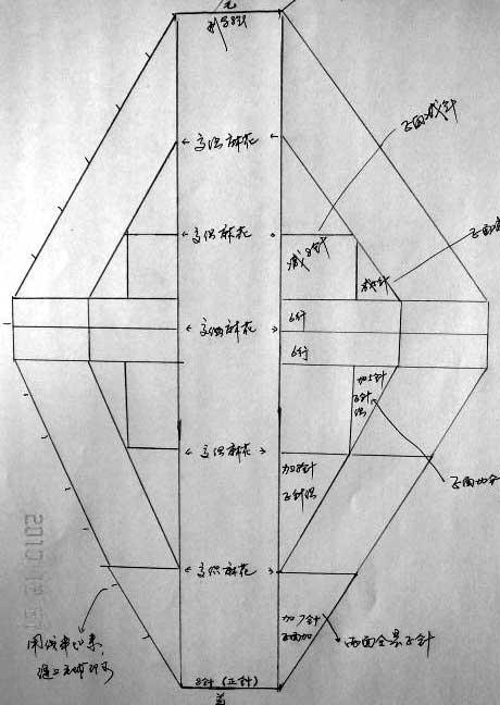 Схема выкройка шапки