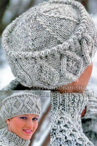 шапки 2016 2017 вязание шапок модные и новые модели