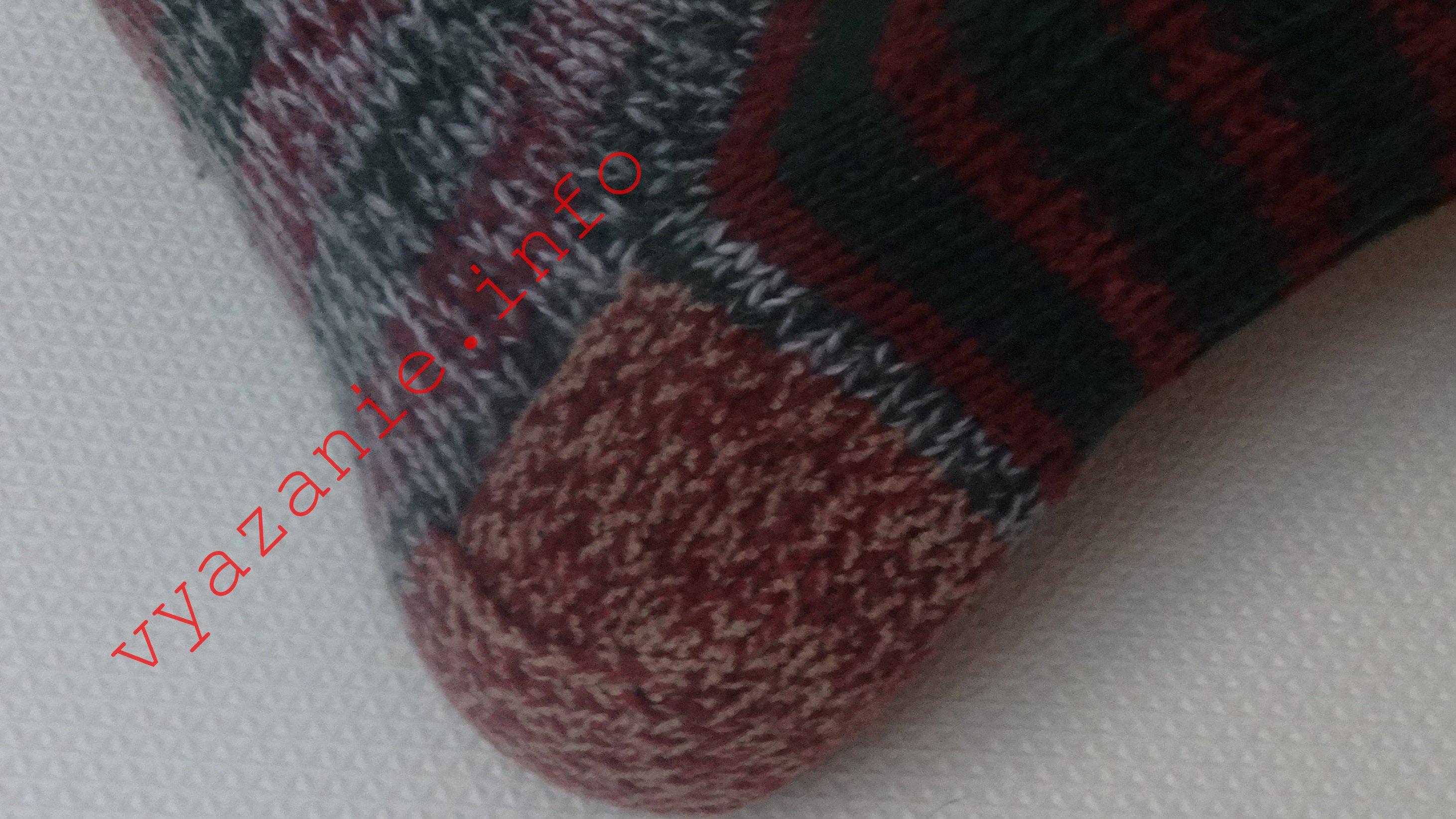 как связать носки спицами правильно