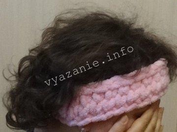 頭の上の包帯をニットする方法