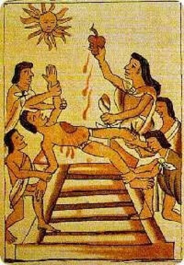 アステカ の 祭壇