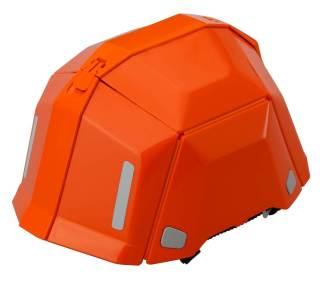 TOYO 防災用折りたたみヘルメット BLOOM II No.101 オレンジ