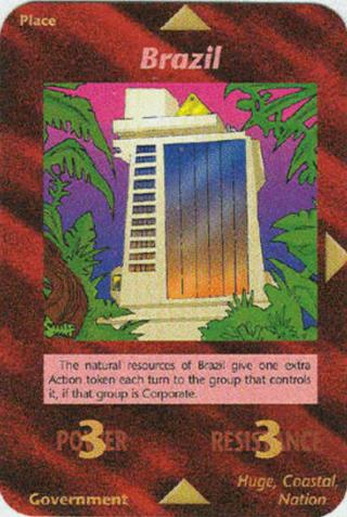 イルミナティカードの予言 Ver409 ブラジル編