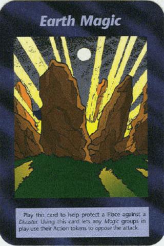 イルミナティカードの予言Ver435 Earth Magic 地球魔術