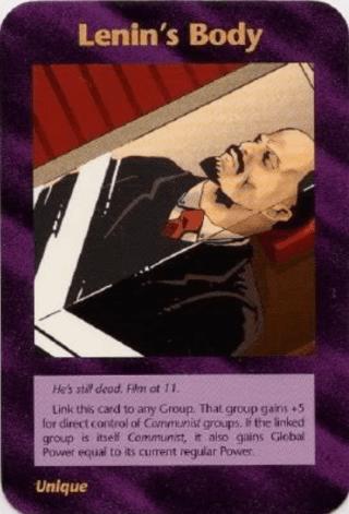 イルミナティカードの予言Ver478 Lenin's Body レーニンの死体