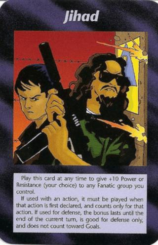 イルミナティカードの予言Ver474 Jihad ジハード