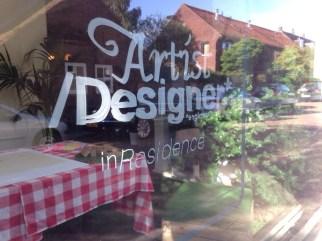 Artist/Designer in residence... so true