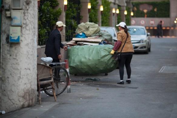 Eboueurs chinois