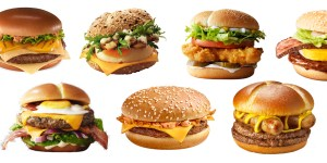 McDonalds burgers from around the world