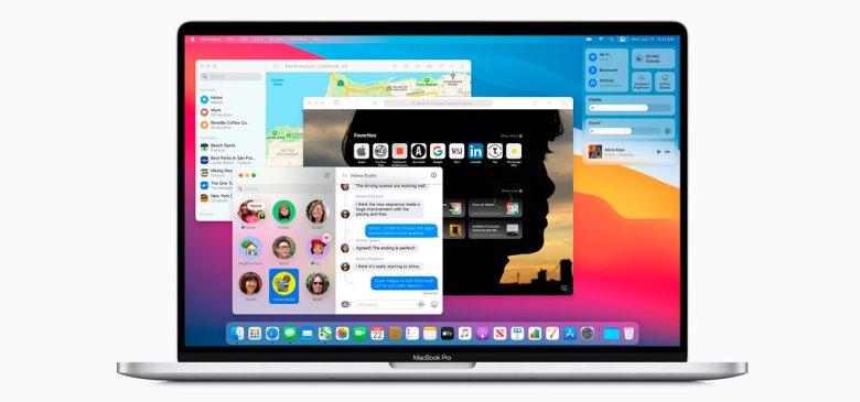 Apple presenta la macOS Big Sur