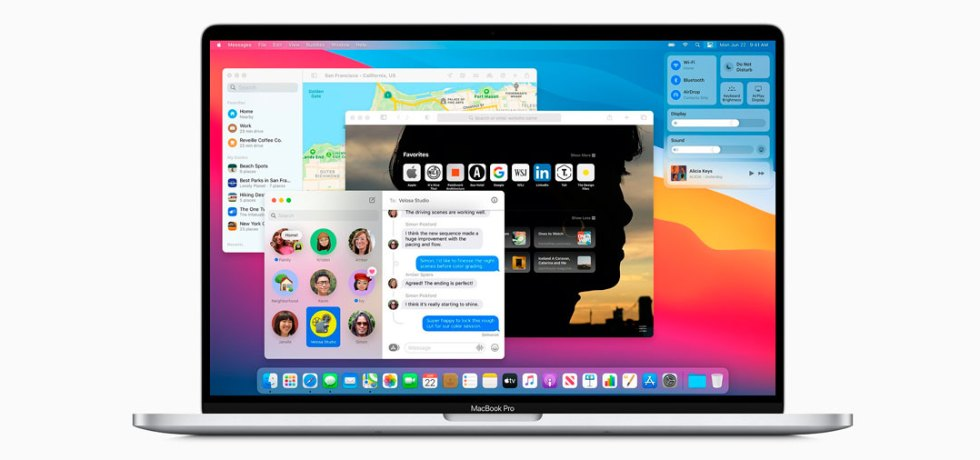 Apple presenta la macOS Big Sur