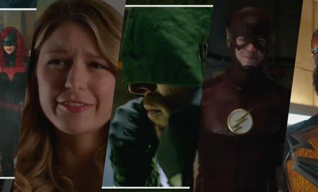 Los superhéroes del The CWverse