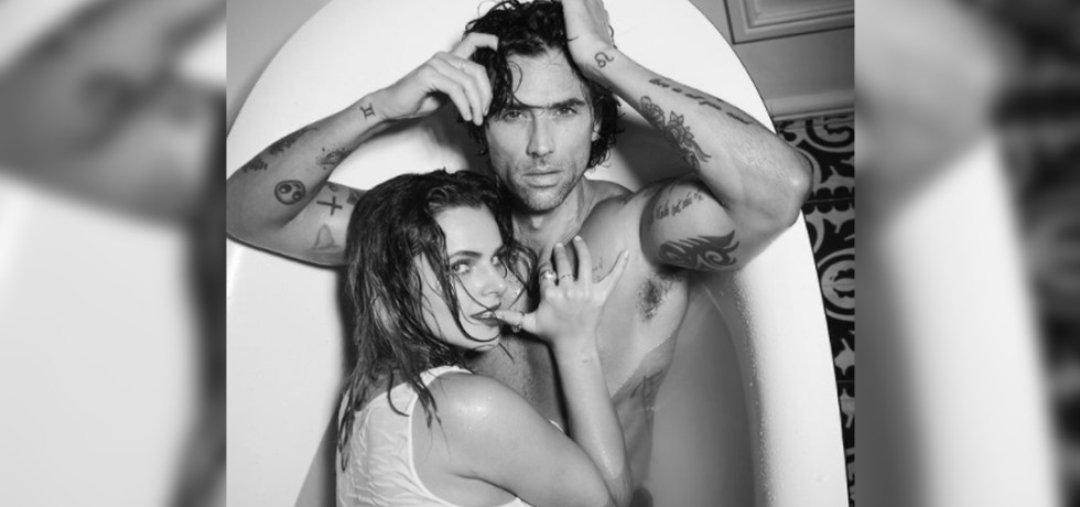 Matías Novoa y Isabella Castillo