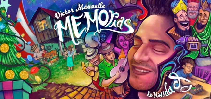 Víctor Manuelle en Memorias de Navidad